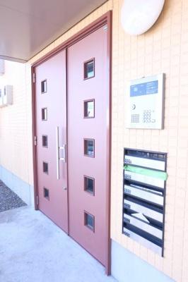 【エントランス】【シャーメゾン】サジテール小倉台C棟