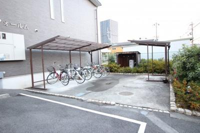 ☆屋根付き駐輪場☆