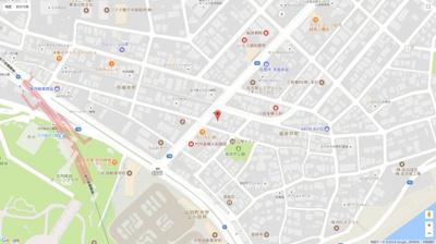 【地図】アプト庄内緑地 II棟(APT庄内緑地 Ⅱ棟)