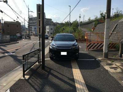 【前面道路含む現地写真】宮之阪 新築一戸建て