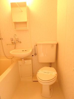 ウッディーハウスの浴室