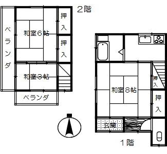 関根貸家(三橋2)
