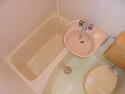 【浴室】プレアール田辺
