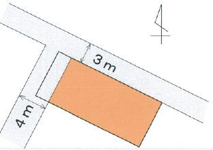 【区画図】【売地】紀之川中学校区・120465