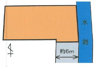 【区画図】【売地】紀之川中学校区・120466