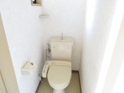 【トイレ】ハイツヨシダ