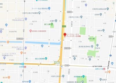 【地図】シティライフディナスティ日本橋