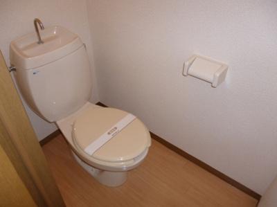クレールシャトーのトイレ