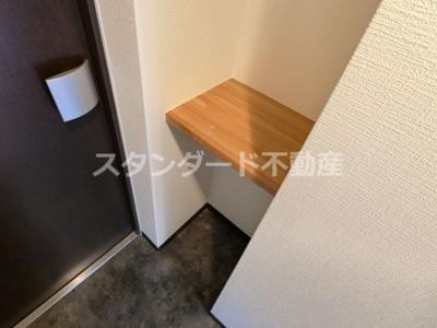 【玄関】プレジオ天神橋