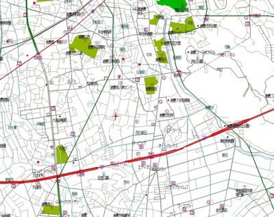 【地図】フォンティーヌB