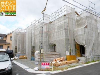 完成建物近隣にございます。すぐにご内覧できます。