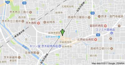 【地図】ユニバーサルコート