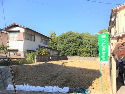 【外観】京都市山科区大塚大岩4-28 売土地