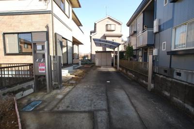 【駐車場】さいたま市桜区中古戸建