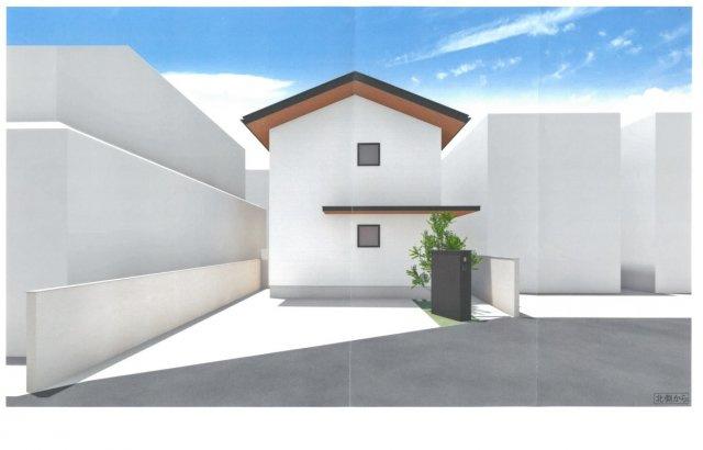 堺市西区上野芝町の新築です