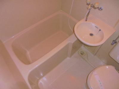 【浴室】ムサシンビル