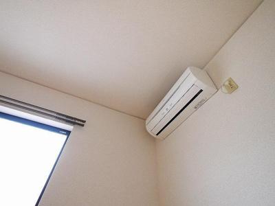 エアコン付きなので快適