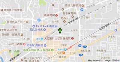 【地図】青山マンション 株式会社Roots
