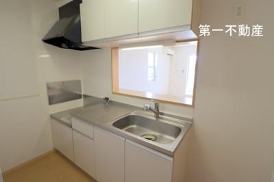 【キッチン】グレイシャス ハイム A棟