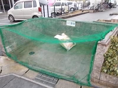 敷地内ゴミ捨て場あり。