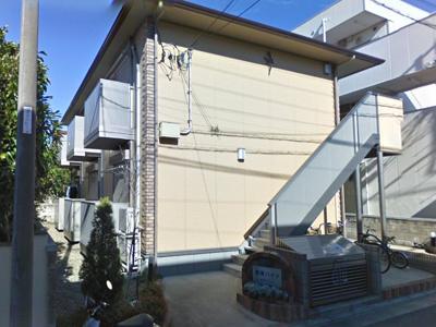 軽量鉄骨像の耐震建物です