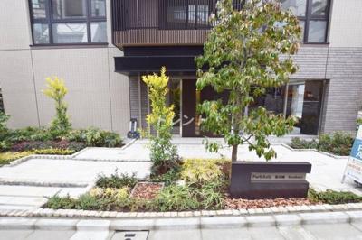 【エントランス】パークアクシス飯田橋レジデンス