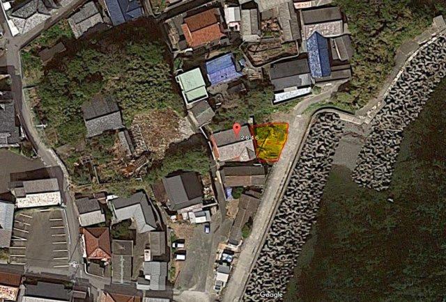 【地図】三重県志摩市志摩町片田 売地