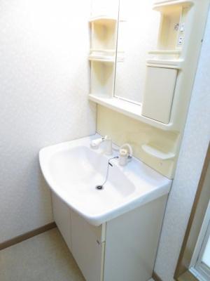 【独立洗面台】ガーデンフラット