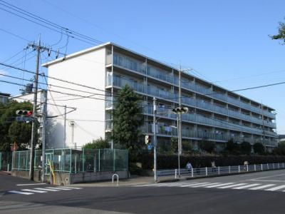 【外観】小束山住宅3号棟