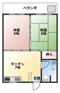【外観】ユニック松尾