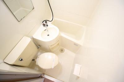 【浴室】コーポ朝倉