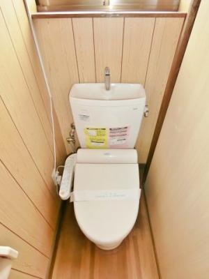 【トイレ】楽氣邸千沢貸家