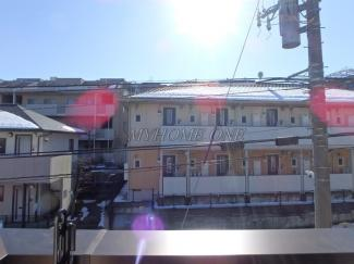 2階バルコニーからの眺望
