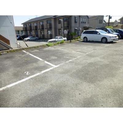 【駐車場】間谷ハイツ