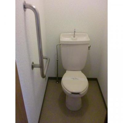 ベイコート幕張本郷のトイレ