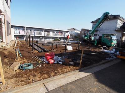 【外観】保土ヶ谷区法泉2丁目全2棟 新築戸建