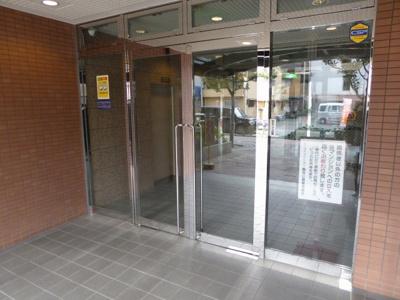 【エントランス】シーアイマンション鶴見緑地公園