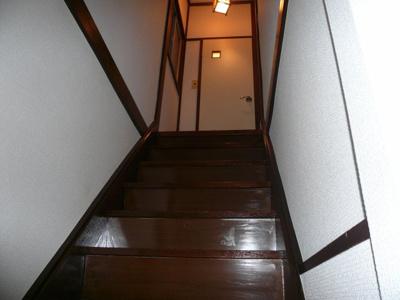 堀田ハウス 室内階段  ※同タイプ別室