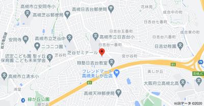 【地図】ハヤシハイツ