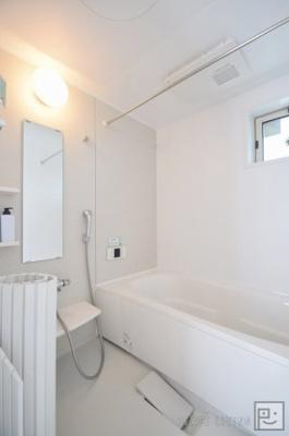 【浴室】シャンデリア