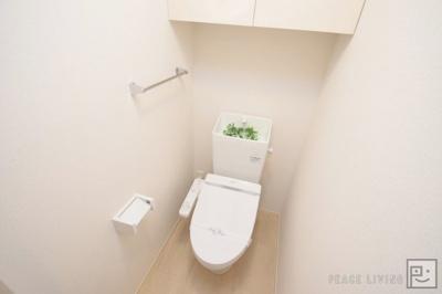【トイレ】シャンデリア