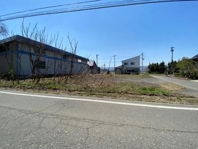 【外観】米沢市三沢 土地