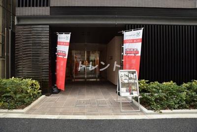 【エントランス】ザパークハビオ日本橋小伝馬町