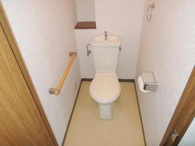 【トイレ】パークシャトー平野白鷺