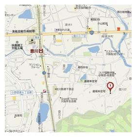 【地図】エスポワール豊川