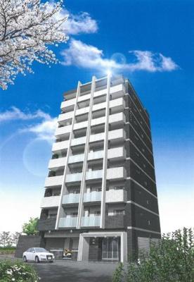 【外観パース】ミラージュパレス北梅田