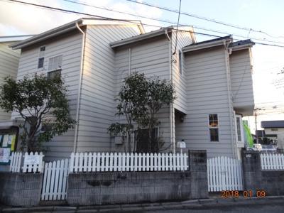 【外観】さいたま市南区太田窪 太陽光発電付中古輸入住宅