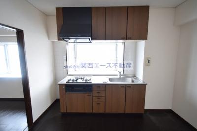 【キッチン】ツカサロイヤルハイツ瓢箪山