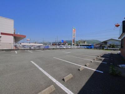 【駐車場】古市町店舗