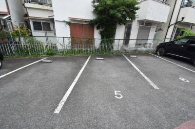 【駐車場】アカシヤハイツ スモッティー阪急高槻店